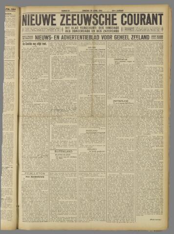 Nieuwe Zeeuwsche Courant 1924-04-29