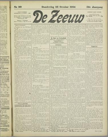 De Zeeuw. Christelijk-historisch nieuwsblad voor Zeeland 1924-10-23