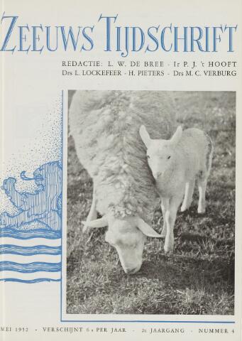 Zeeuws Tijdschrift 1952-05-01