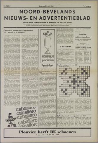 Noord-Bevelands Nieuws- en advertentieblad 1969-06-21