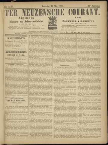 Ter Neuzensche Courant. Algemeen Nieuws- en Advertentieblad voor Zeeuwsch-Vlaanderen / Neuzensche Courant ... (idem) / (Algemeen) nieuws en advertentieblad voor Zeeuwsch-Vlaanderen 1895-05-25