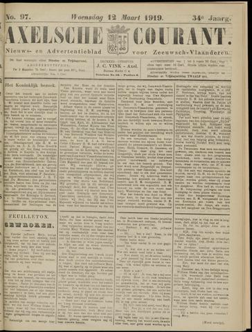 Axelsche Courant 1919-03-12