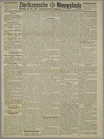 Zierikzeesche Nieuwsbode 1917-10-29