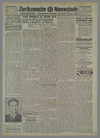 Zierikzeesche Nieuwsbode 1934-03-02