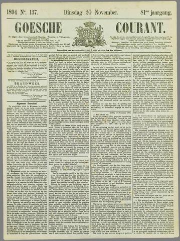 Goessche Courant 1894-11-20