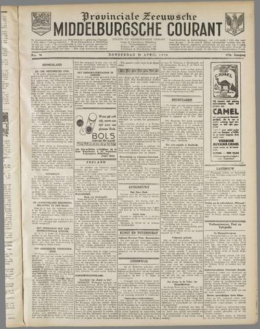 Middelburgsche Courant 1930-04-24