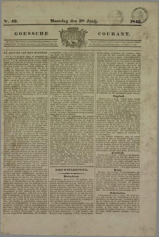 Goessche Courant 1842-06-20