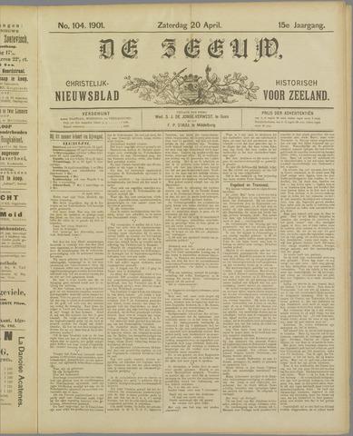 De Zeeuw. Christelijk-historisch nieuwsblad voor Zeeland 1901-04-20