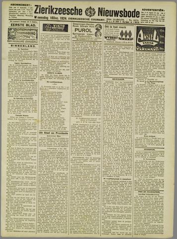 Zierikzeesche Nieuwsbode 1924-12-10