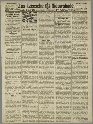 Zierikzeesche Nieuwsbode 1925-05-06