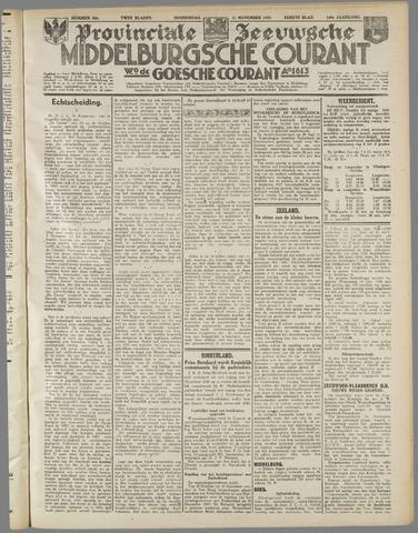 Middelburgsche Courant 1937-11-11