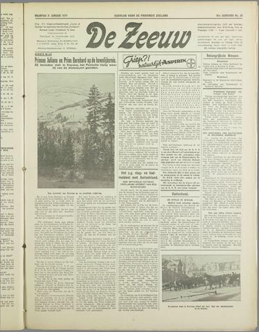 De Zeeuw. Christelijk-historisch nieuwsblad voor Zeeland 1937-01-11