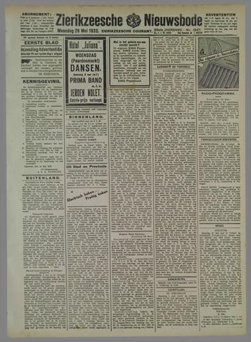 Zierikzeesche Nieuwsbode 1933-05-29