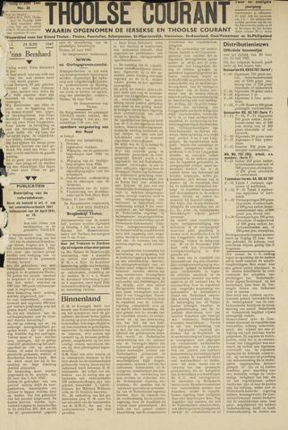 Ierseksche en Thoolsche Courant 1947-06-27