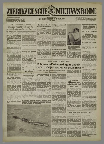 Zierikzeesche Nieuwsbode 1954-01-29
