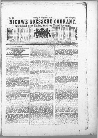 Nieuwe Goessche Courant 1876-08-08
