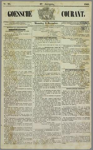 Goessche Courant 1861-12-09