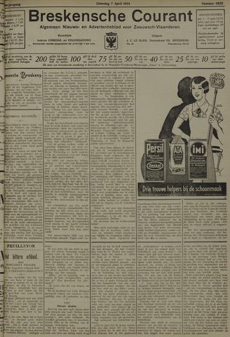 Breskensche Courant 1934-04-07