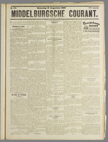Middelburgsche Courant 1927-08-15