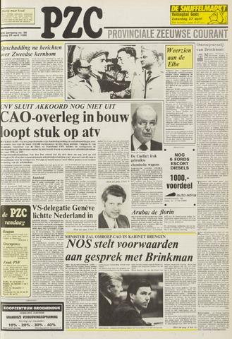 Provinciale Zeeuwse Courant 1985-04-26