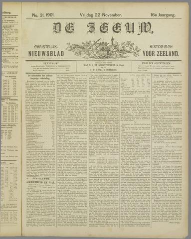De Zeeuw. Christelijk-historisch nieuwsblad voor Zeeland 1901-11-22