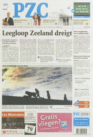 Provinciale Zeeuwse Courant 2008-12-15