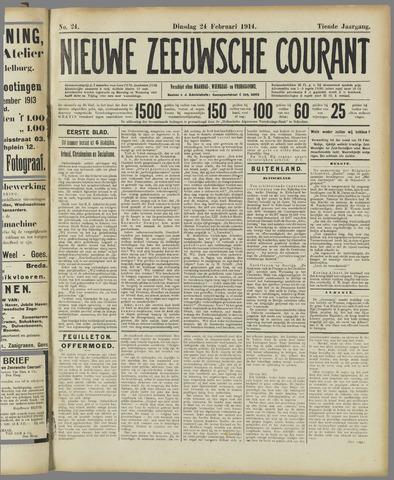 Nieuwe Zeeuwsche Courant 1914-02-24