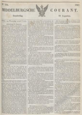 Middelburgsche Courant 1867-08-22