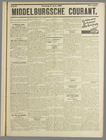 Middelburgsche Courant 1927-07-08