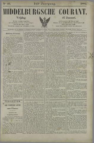 Middelburgsche Courant 1882-01-27