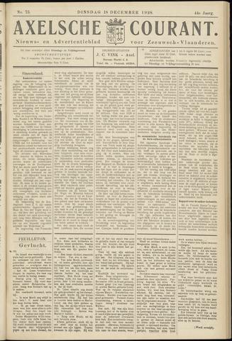 Axelsche Courant 1928-12-18
