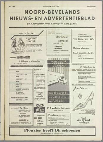 Noord-Bevelands Nieuws- en advertentieblad 1964-03-14