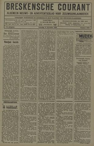 Breskensche Courant 1924-11-15