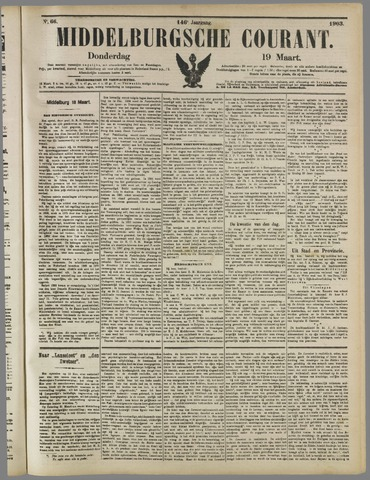 Middelburgsche Courant 1903-03-19