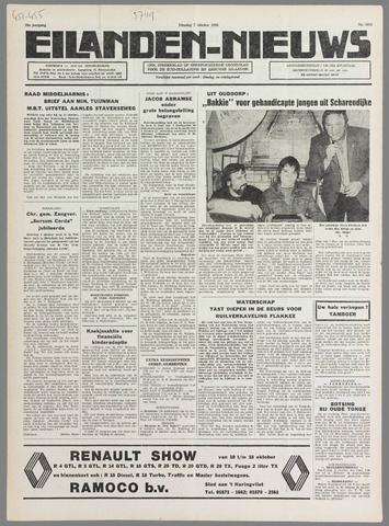 Eilanden-nieuws. Christelijk streekblad op gereformeerde grondslag 1980-10-07