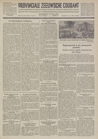 Provinciale Zeeuwse Courant 1941-08-27
