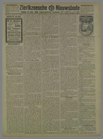Zierikzeesche Nieuwsbode 1923-02-16