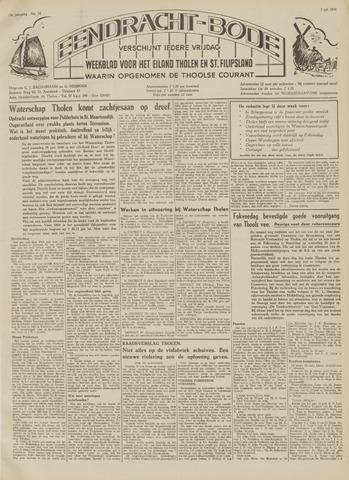 Eendrachtbode (1945-heden)/Mededeelingenblad voor het eiland Tholen (1944/45) 1959-07-03