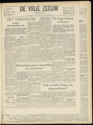 de Vrije Zeeuw 1951-07-10