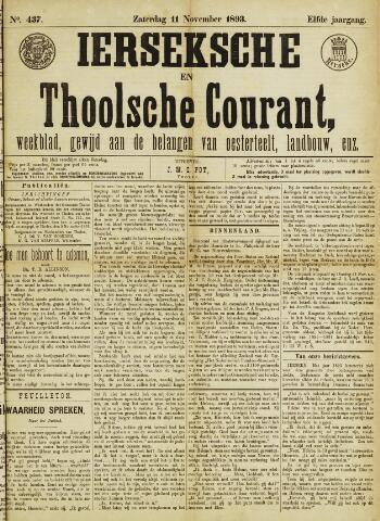 Ierseksche en Thoolsche Courant 1893-11-11