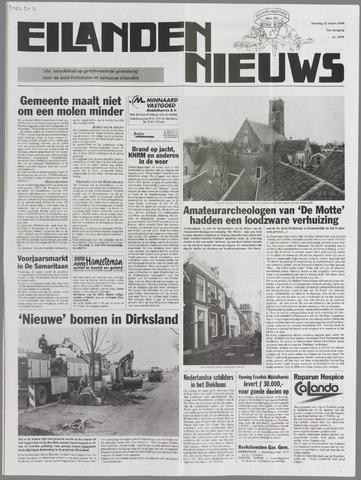 Eilanden-nieuws. Christelijk streekblad op gereformeerde grondslag 2000-03-21