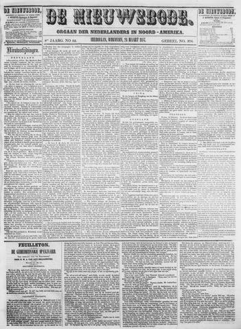 Sheboygan Nieuwsbode 1857-03-24