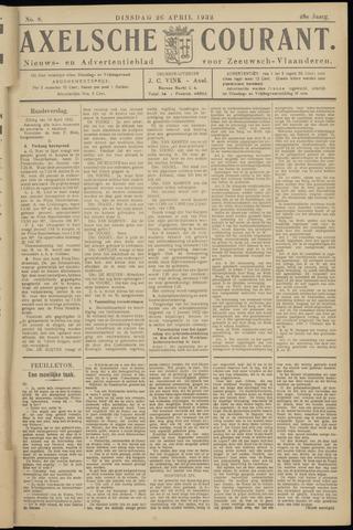Axelsche Courant 1932-04-26