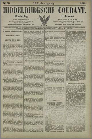 Middelburgsche Courant 1884-01-31