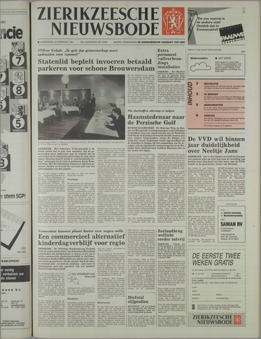 Zierikzeesche Nieuwsbode 1991-02-28
