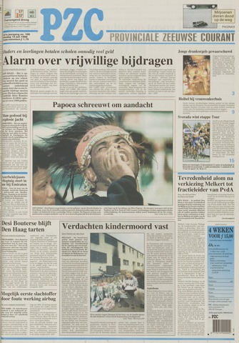 Provinciale Zeeuwse Courant 1998-07-14