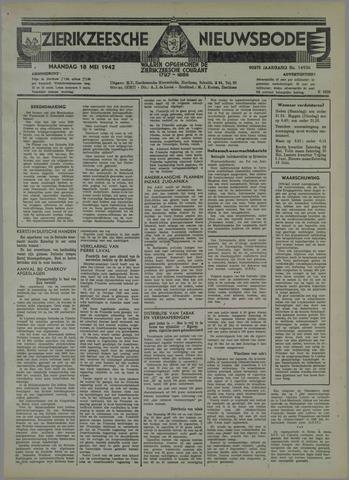 Zierikzeesche Nieuwsbode 1942-05-18
