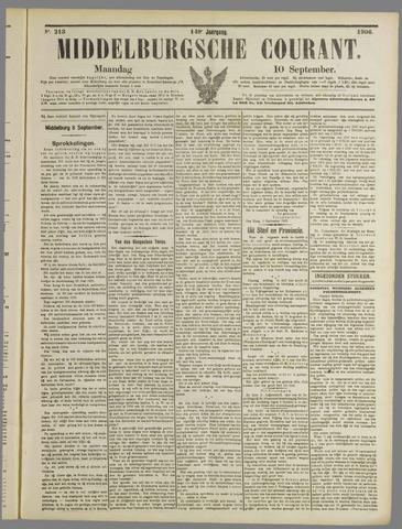 Middelburgsche Courant 1906-09-10