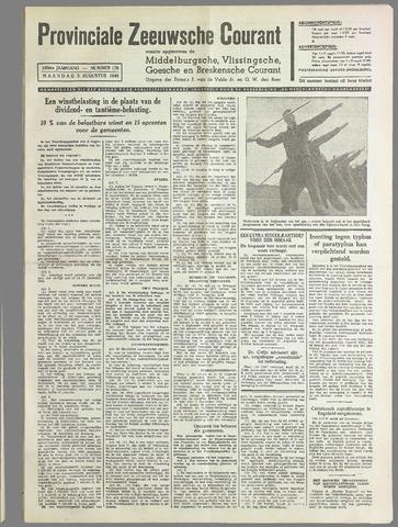 Provinciale Zeeuwse Courant 1940-08-05