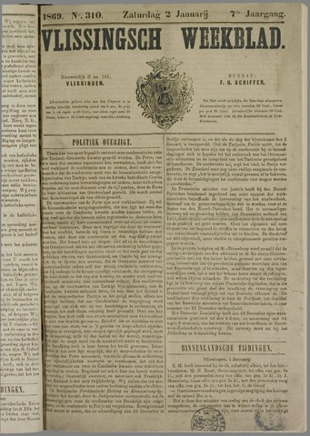 Vlissings Weekblad 1869